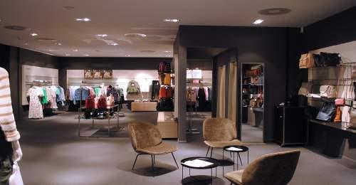 photo d'interieur du magasin globus